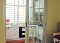 厨房,玻璃推拉门,橱柜