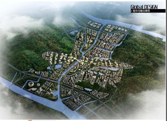 某 滨海生态新城焦门河中心区城市设计pdf文本