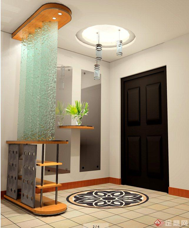 现代住宅空间室内装修设计jpg效果图