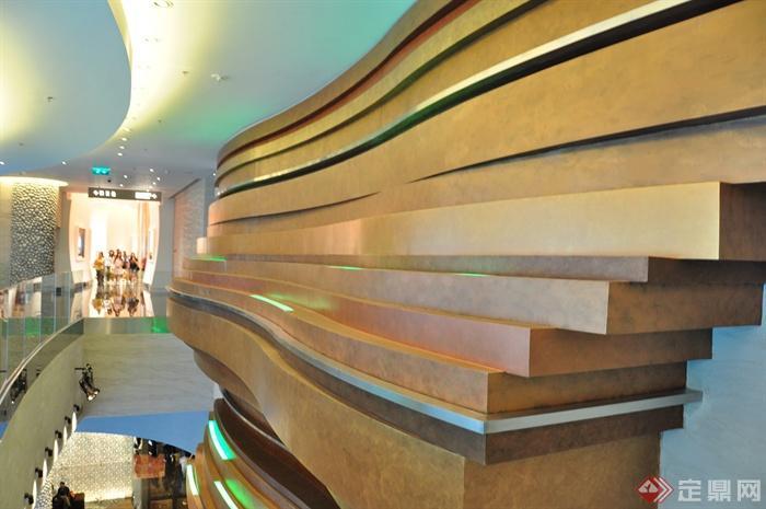 澳门新豪天地--皇冠假日酒店-艺术墙体-设计师图库