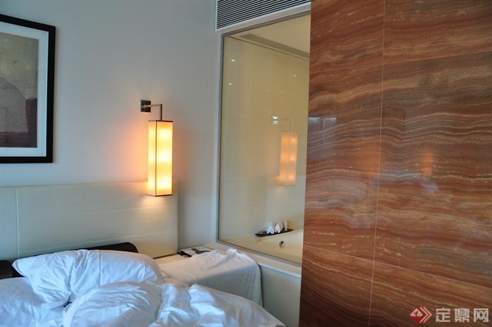 酒店,客房,壁灯