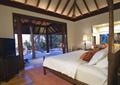 酒店,客房,床,吊頂