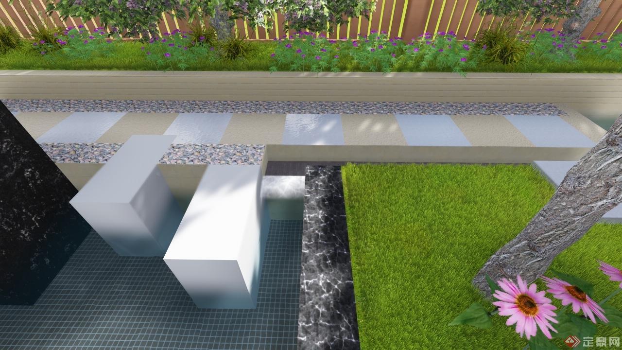 别墅庭院景观设计-易之风景观