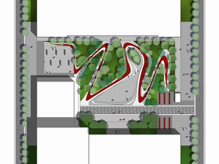 景观设计ps平面素材展示