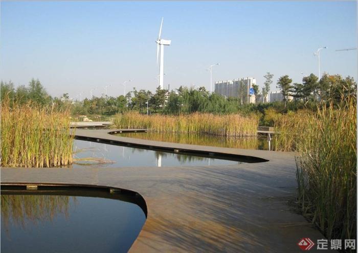 码头滨水区城市景观规划设计PPT文本