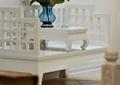 罗汉床,桌子,花瓶插花