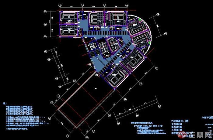 某现代大型自助式ktv室内设计施工图(含效果)[原创]