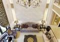 客厅,沙发,茶几,吊灯,背景墙,台灯,地板