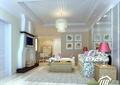 客厅,沙发,茶几,电视墙,壁炉,台灯,吊灯