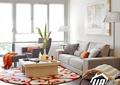客厅,茶几,沙发,装饰画,落地灯,地毯