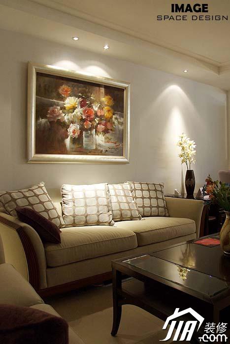13张茶几室内装饰客厅图-实景沙发客厅v茶几花锦时室内设计图片