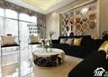 客厅,沙发,茶几,玻璃窗,隔断墙,背景墙