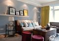 沙发,茶几,陈设架,装饰画,摆件