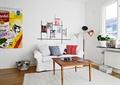 客厅,沙发,茶几,落地灯,照片墙,地毯