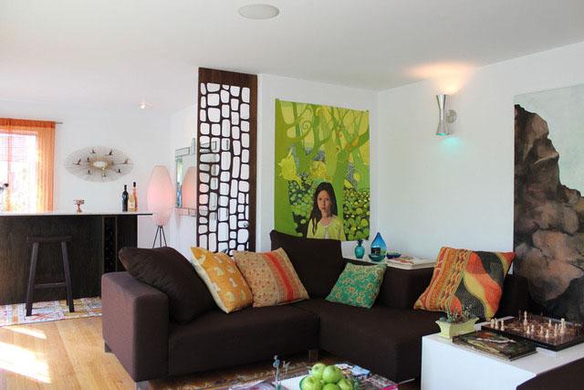 客厅,沙发,背景墙,灯饰