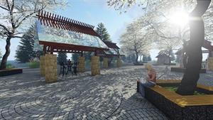 模拟湿地场景所做设计