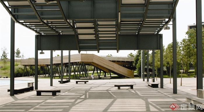道路,楼梯设计图-坐凳楼梯-设计师图库