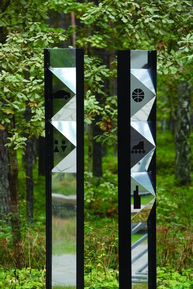 室外景观节点设计图片-标志柱景观柱标志-设计师图库