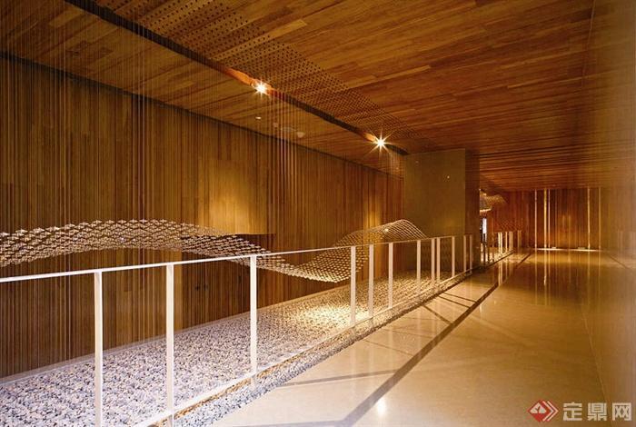 国外某酒店室内设计-酒店过道-设计师图库