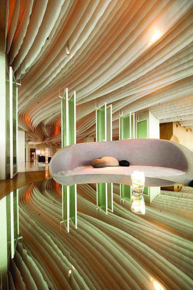 国外某酒店室内设计-酒店沙发吊顶-设计师图库