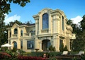 别墅,别墅建筑,欧式别墅,庭院,植配