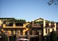 别墅,别墅建筑,庭院景观,欧式别墅