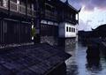 水景,河流,祠堂建筑,祠堂景观