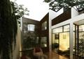 庭院,庭院景观,住宅景观,平台,桌椅