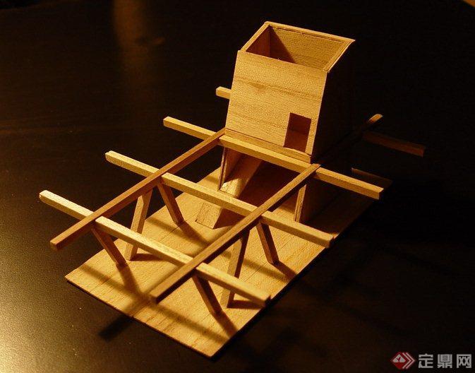 学生作业 茶室建筑设计方案