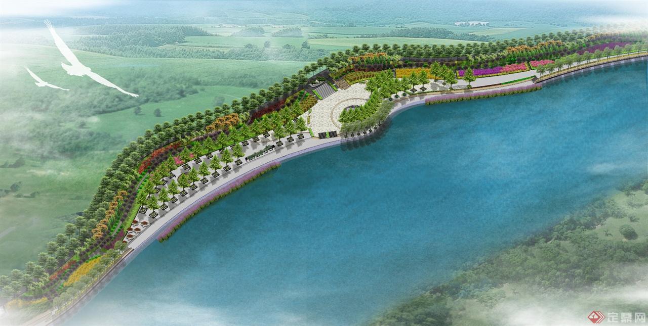 滏阳河滨水景观设计