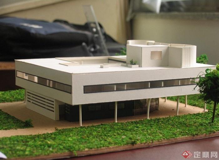 萨伏伊模型房价小镇别墅[原创][VillaSavoyma东郊照片别墅手工南京图片