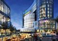 商业楼,商业建筑,商业街,商业街景观