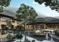 酒店,國賓館,酒店景觀,水池,水景,樹池