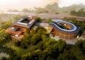 会所,旅游建筑,商业建筑,旅游景观