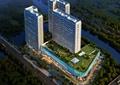 商业综合体,商业中心,商场,商业环境,屋顶花园