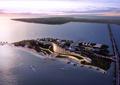 度假酒店,温泉酒店,滨水建筑,商业环境