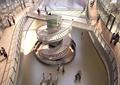 商業中心,購物中心,商場,旋轉樓梯,欄桿