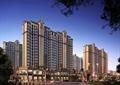 住宅区,商住建筑,商住楼,高层住宅,住宅景观
