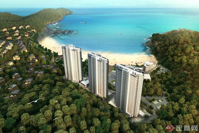 酒店,酒店建筑,度假区,酒店景观