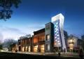 商业楼,商业建筑,商业景观,商业街