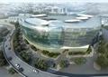 综合楼,综合建筑,办公环境,道路