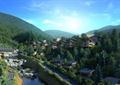 城乡规划,乡镇规划,民居,住宅建筑,住宅景观,水景,道路