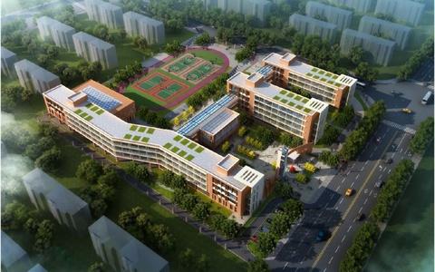 重庆某学校规划与建筑设计方案