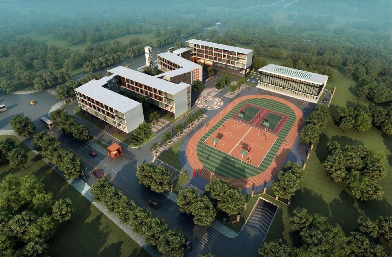 阜阳某学校规划建筑设计方案