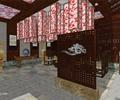 咖啡廳,屏風,石燈,花瓶,臺階,柱體