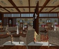 咖啡店,桌椅,插花擺件,裝飾品