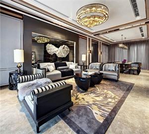 合肥某高层小区室内设计、新古典