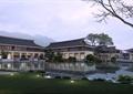 会所,商业建筑,水池,商业环境