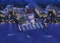 码头,港口,交通码头,滨水景观