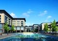 水池,水景,办公楼,办公景观